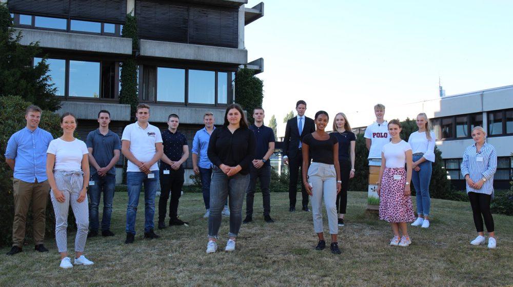 13 Piepenbrocker starten ihre Ausbildung (Bild : Piepenbrock Unternehmensgruppe GmbH + Co. KG)