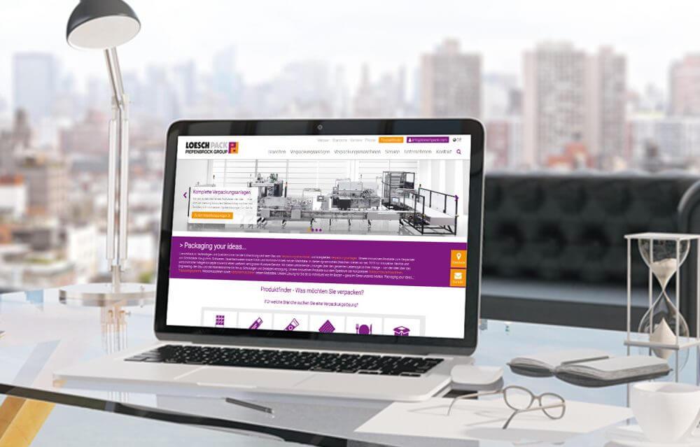 LoeschPack launcht neue Website