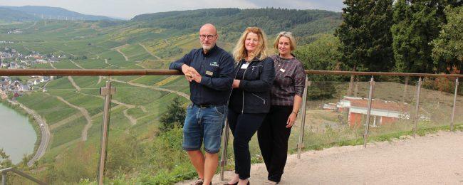 André Priestersbach, Jelka Benz und Stefanie Hillgärtner sind ein eingespieltes Team.