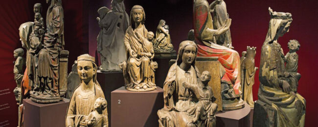 Die Madonnen-Figuren-Sammlung des LWL-Museums.