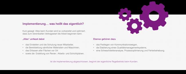 """""""Implementierung hautnah"""" – ein Erlebnisbericht"""