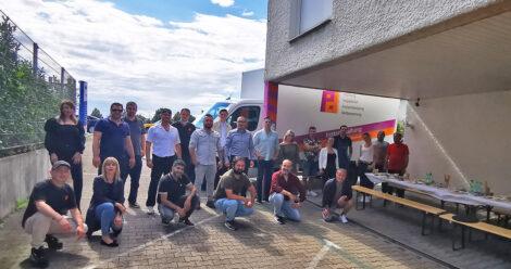 Spaß und Gemeinschaft beim Piepenbrock-Grillfest in Sindelfingen