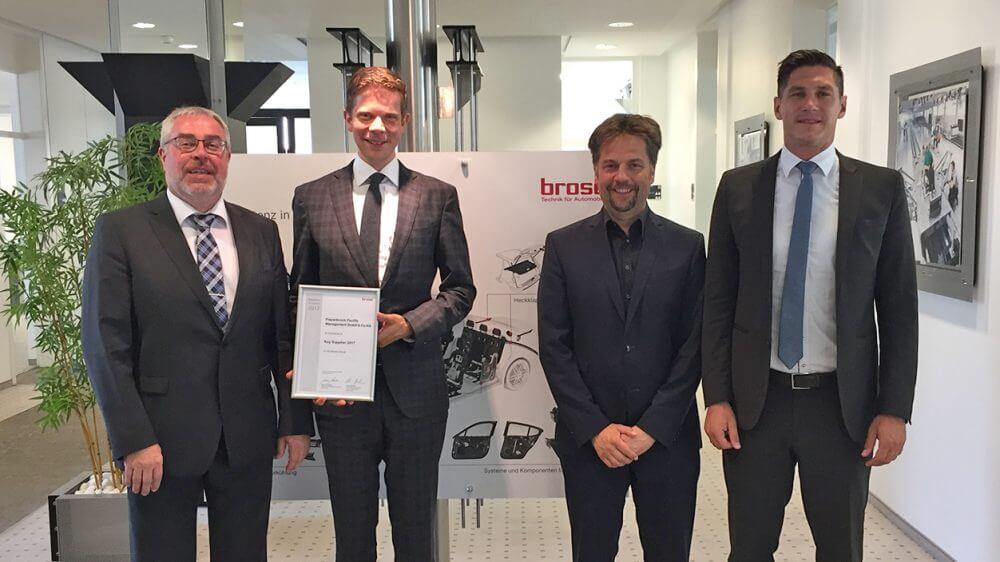 Piepenbrock erneut von Brose als Key Supplier gewürdigt