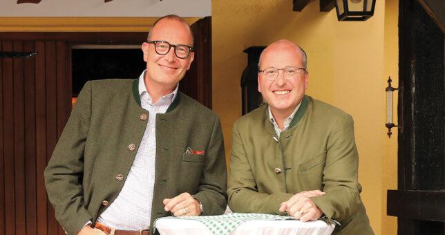 Arnulf und Olaf Piepenbrock, Geschäftsführende Gesellschafter der Piepenbrock Unternehmensgruppe