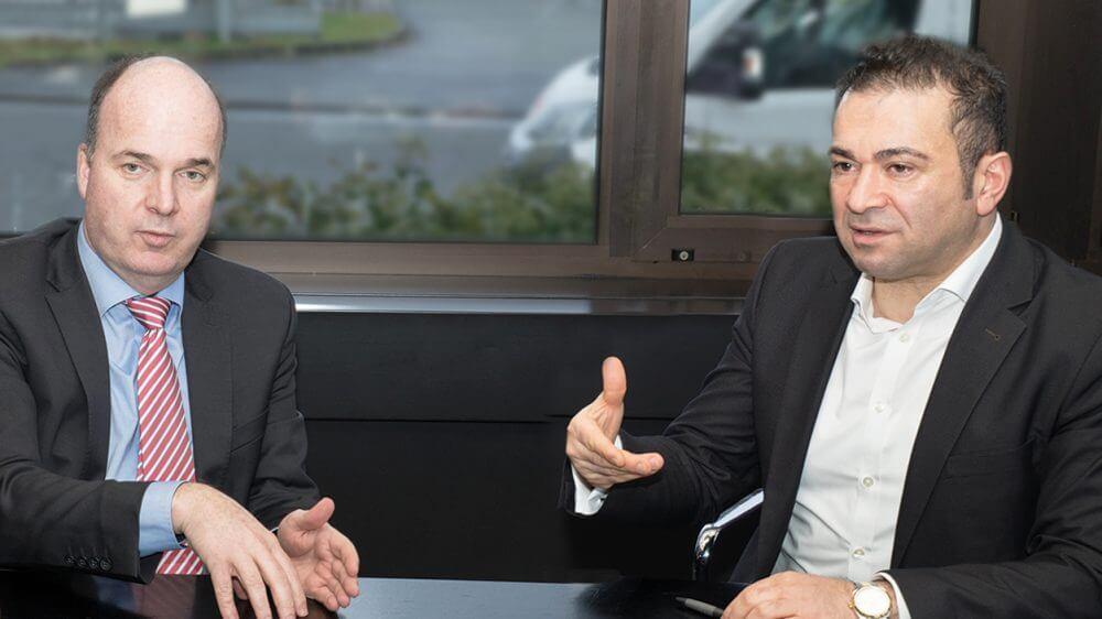 Klaus Aengenvoort und Mahmut Tümkaya