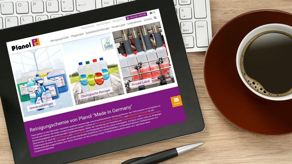 Neue Website von Planol ist online