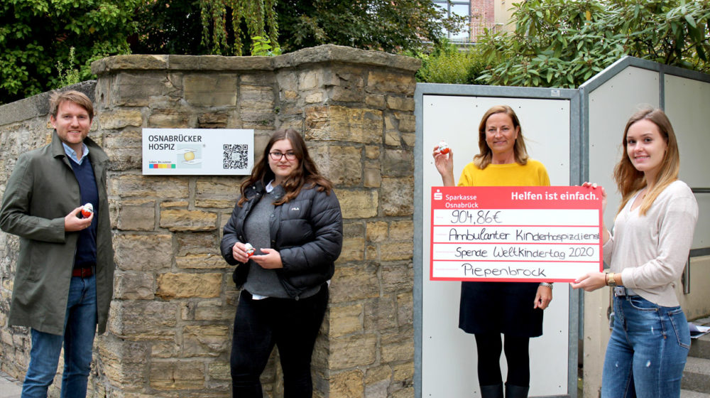 Weltkindertag: Spende an Osnabrücker Hospiz