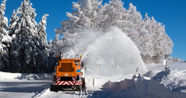 5 Gründe für professionellen Winterdienst